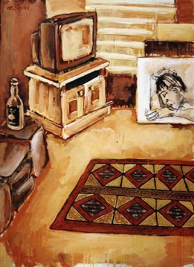 interior painting dion archibald. Black Bedroom Furniture Sets. Home Design Ideas