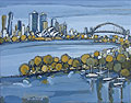 sydney harbour - sydney painting